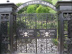 alnwick gardens - iron gates