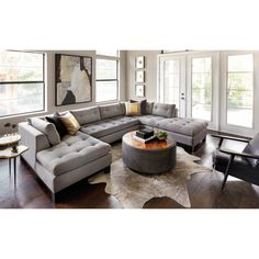 Chandler Sectional, Durango Slate