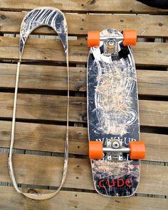 Recycled Skateboard Cruiser