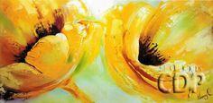 1- Duo de fleurs jaunes