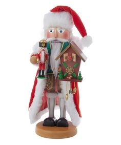 Love this 17'' German Santa Nutcracker on #zulily! #zulilyfinds