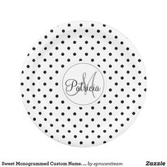 Paper Napkins, Paper Plates, Customizable Gifts, Cake Servings, Party Tableware, Black Paper, Black Dots, Biodegradable Products, Gifts For Him