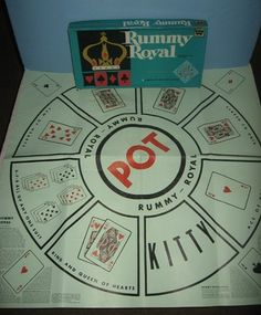 Rummy Royal game!  My brothers and I played this for HOURS!!!!!!