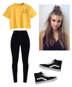 """Untitled #39"" by haileymagana on Polyvore featuring Vans"