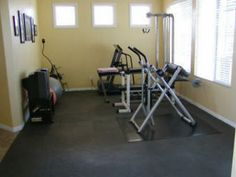 basement exercise room | If you have questions about the mats for your application, just click ...