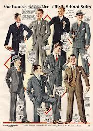 1920s men fashion