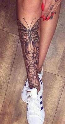 تاتو يد و قدم و جسم انواع الوشم و اجمل صور تاتو Tattoo Leg Tattoos Women Sleeve Tattoos For Women Tattoos