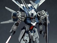1/144 GAT-X105AZ Strike Azzurro - Custom Build