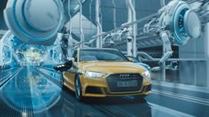 Film advertisement created by thjnk, Germany for Audi, within the category: Automotive. Commercial Music, Ad Car, Audi A3 Sportback, Creative Advertising, Silent Film, Illustrations And Posters, Motion Design, Volkswagen, Concept Art