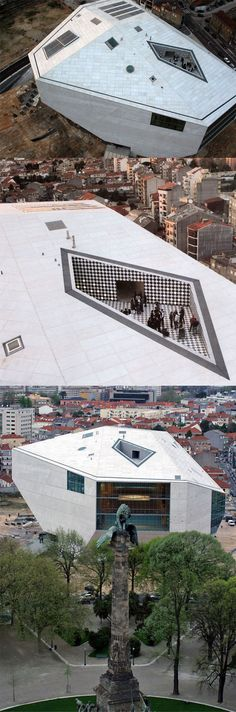 Casa da Música - House of the Music, Porto #Portugal | Rem Koolhaas