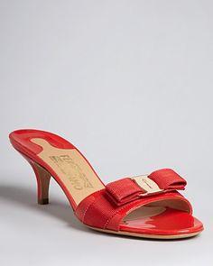 Salvatore Ferragamo Open Toe Dress Pumps - Glory | Bloomingdale's