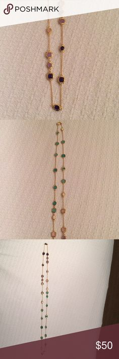 Kate Spade Necklace Very Long Jewel toned necklace kate spade Jewelry Necklaces