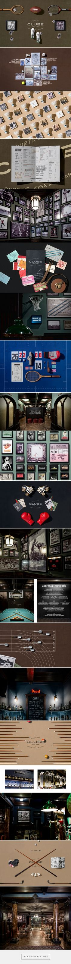 CLUBE Sports Bar and Restaurant Branding and Menu Design by Volta | Fivestar Branding Agency – Design and Branding Agency & Curated Inspiration Gallery