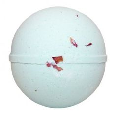 ROMANCE BATH BOMB. Made with all that is nice and natural including a blend of essential oils and a scattering of rose.  One of our favourite bath bombs.  Only £2.69