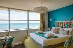 Suite panoramique vue sur mer de l'hôtel & Spa et restaurant Baya à Capbreton. Reportage sur www.kindabreak.com