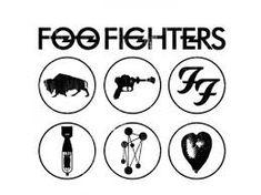 Resultado de imagem para FOO FIGHTERS logo preto e branco