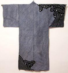 man's shibori yukata back Daily Japanese Textile IMG_8406