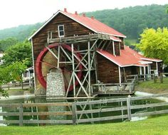 Old Grist Mill in Renfro Valley, Kentucky.