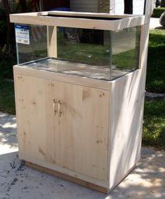 Diy Aquarium Stand, Aquarium Sump, Wall Aquarium, Aquarium Design, Saltwater Aquarium, Aquarium Fish Tank, Fish Tanks, Bow Front Aquarium, Aquarium Cabinet