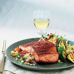 Maple-Glazed Salmon | MyRecipes.com