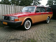 old volvo woody wagon