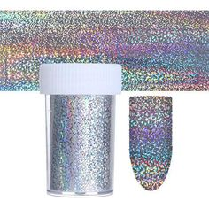 Holographic Series Nail Foil Flower Plaid Line Silver Holo Starry Transfer Sticker Manicure Nail Art Decorations Silver Nail Art, Nail Manicure, Manicures, Nail Art Supplies, Foil Nails, Holographic Nails, Feather, Floral, Flowers