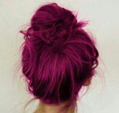 Pelo violeta precioso