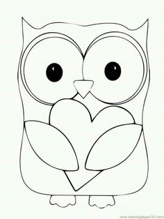Owl Printable Coloring Pages . 24 Owl Printable Coloring Pages . Owl Coloring Pages Printable Free Heart Coloring Pages, Animal Coloring Pages, Free Printable Coloring Pages, Colouring Pages, Coloring Pages For Kids, Coloring Sheets, Coloring Books, Free Coloring, Valentines Day Coloring Page