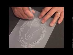 ▶ Parchment Craft-PCA 31 Intimate Dance Card Punch Tools demo - YouTube