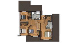 Modèle cottage Le Saule   Une Maison Construction, Active, Floor Plans, Cottage, Style, Flat Roof, Families, Sons, Home