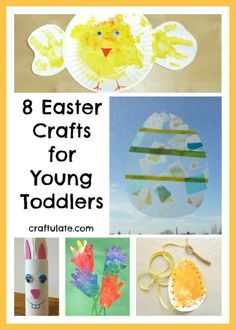 Craftulate: 8 Easter Crafts for Young Toddlers