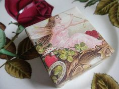 VALENTINES DAY SPECIAL  Three gorgeous vintage style by TerraViam, $21.00