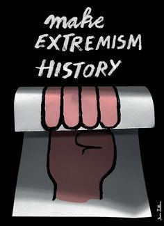 MAKE EXTREMISM HISTORY! ПОКОНЧИМ С ЭКСТРЕМИЗМОМ! МЕЖДУНАРОДНЫЙ КОНКУРС ПЛАКАТОВ ПРОТИВ ЭКСТРЕМИЗМА http://design-union.ru/process/awards/3340-against-extrmism  «Make Extremism History!» является восьмым ежегодным конкурсом дизайна, организованным 4tomorrow.Конкурс является частью проекта «poster for tomorrow»/ Он направлен на промоутирование графического дизайна в качестве инструмента социальных изменений.Обращение организаторовПожалуйста, обратите внимание: мы не говорим только о…