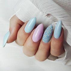 Gorgeous Nails, Pretty Nails, Spring Nails, Summer Nails, Shellac, Gell Nails, Geometric Nail Art, Claw Nails, Best Nail Art Designs