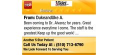 Been coming to Dr. Alvarez for years. Great experience everytime I come. The staff is the...