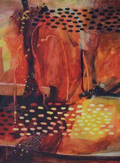 Dreamtime Memory - Watercolor by Lynda Hoffman-Snodgrass