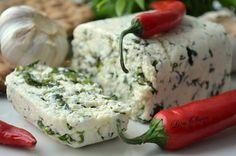 MY FOOD или проверено Лизой: Ароматный домашний сыр с травами и зеленью