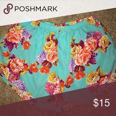 Flower print pom pom shorts Flower print pom pom shorts Shorts