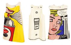 The Lisa Perry For Roy Lichtenstein Line is Bold and Quirky #rihanna #rihannastyle