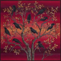 Robber's Roost by Joanne Baeth. Best Wall Quilt at Mid Atlantic Quilt Festival 2015.