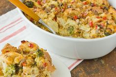Freezer Recipe: Sausage and Vegetable Breakfast Casserole Recipes from The Kitchn | The Kitchn