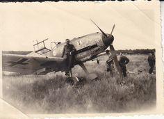 Me 109 E der 7./JG 2 mit Staffelwappen Frankreich 1940