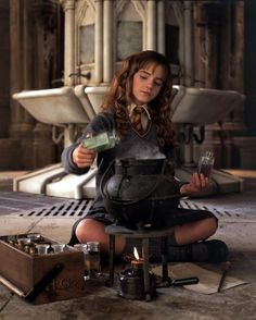 I love this picture of Hermione :)