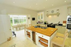 Kirkton House, Langholm  - Fabulous open plan kitchen and conservatory dining room (seats 12).