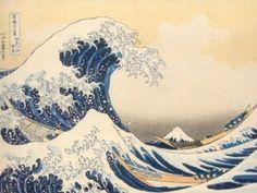 The Great Wave off Kanagawa (神奈川沖浪裏 Kanagawa-oki nami-ura?) original print by Hokusai / ukiyo-e Japanese woodblock print