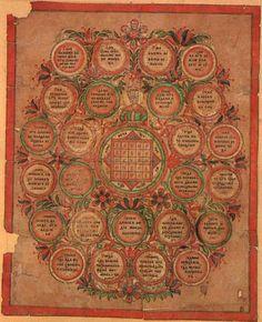 Sator Arepo: The Seal of Solomon the Wise lubok, mid-1800s. Печать царя Соломона