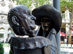 Géza Hofi - Wikipedia, the free encyclopedia Lion Sculpture, Skull, Statue, Free, Sculptures, Skulls, Sugar Skull, Sculpture