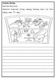 english worksheets creative writing writing pinterest creative writing worksheets and. Black Bedroom Furniture Sets. Home Design Ideas