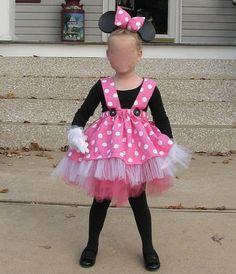 Custom Minnie Mouse Tutu Outfit Costume