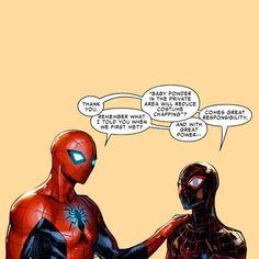 My #DreamShip:Kamala (Ms. Marvel), Sam (Nova) and Miles (Spider-Man)…